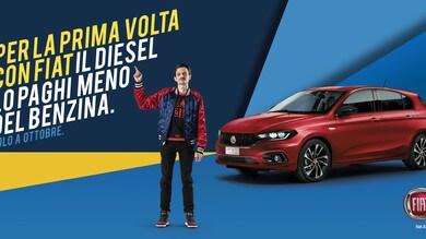 Fiat anticipa tutti: per la prima volta i Diesel costeranno meno dei benzina