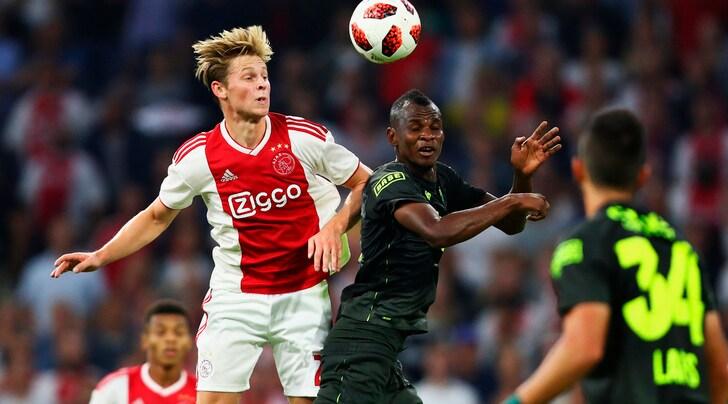 Juventus, tra Pogba e Rabiot spunta De Jong