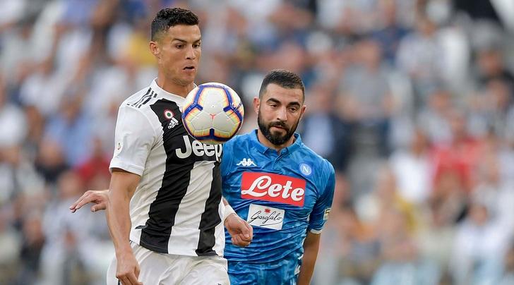 Napoli, Albiol: «Ronaldo come Maradona? La Juventus vinceva anche senza CR7...»