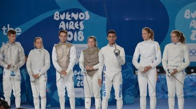 Giochi giovanili, scherma: oro a Di Veroli e Favaretto