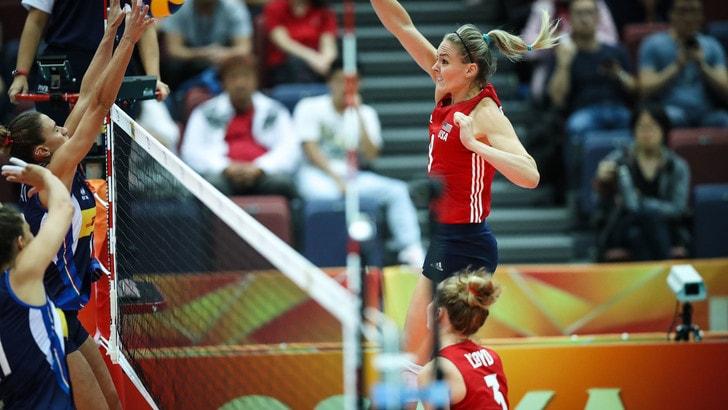 Volley: Mondiali Femminili: per l'Italia contro gli Usa è la nona vittoria