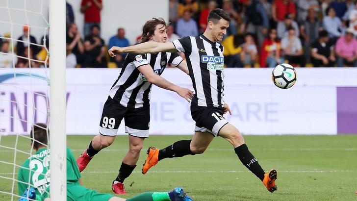 Serie A Udinese, per Balic allenamento differenziato