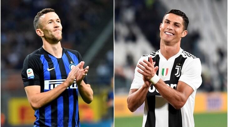 """Inter, Perisic """"incorona"""" Cristiano Ronaldo"""