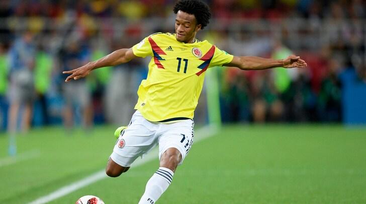 Amichevoli, la Colombia di Cuadrado si impone 4-2 sugli Usa. Messico-Costarica 3-2