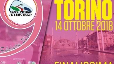 A Torino la finalissima del Giro Handbike