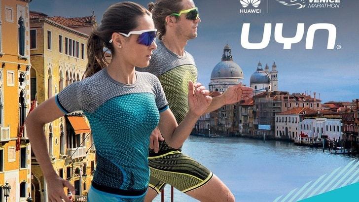 Ricco pacco gara con UYN® alla 33° Huawei Venicemarathon