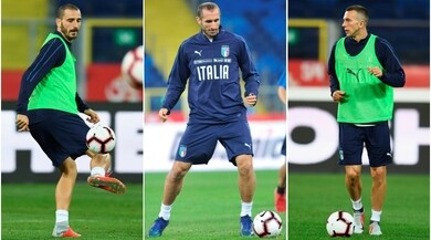 Italia, il blocco Juventus guida le ultime prove anti-Polonia