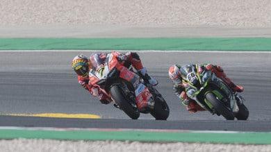 SBK Aruba.it - Ducati, Davies: «Eravamo competitivi, ci rifaremo»