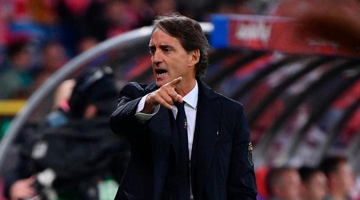 Italia, Mancini: «Gara dominata, dateci tempo»