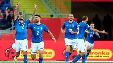 Nations League, Polonia-Italia 0-1: Biraghi fa felice Mancini nel recupero