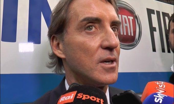 """Mancini: """"Pressione? Siete voi giornalisti che create tutto.."""""""