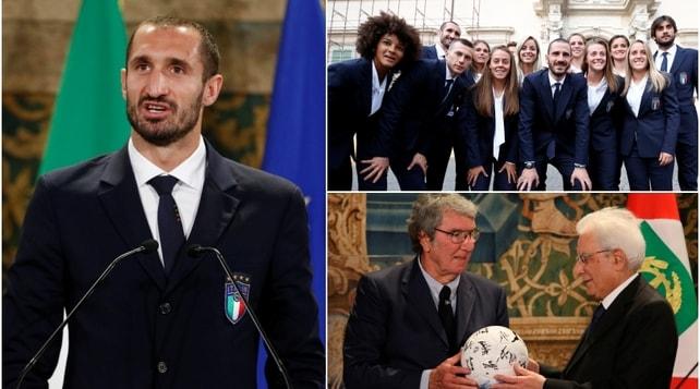 L'Italia da Mattarella per i 120 anni della Figc: quanta Juventus al Quirinale!