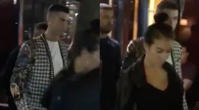 Ronaldo, fuga romantica a Parigi con la sua Georgina