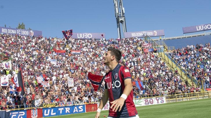 Serie A Bologna, differenziato per Orsolini, Okwonkwo e Falcinelli