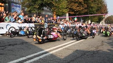 Roberta Amadeo conclude il Giro d'Italia Handbike con la maglia rosa