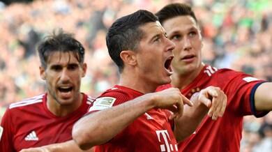 Bundesliga, il Bayern torna alla vittoria. Dortmund sempre più capolista