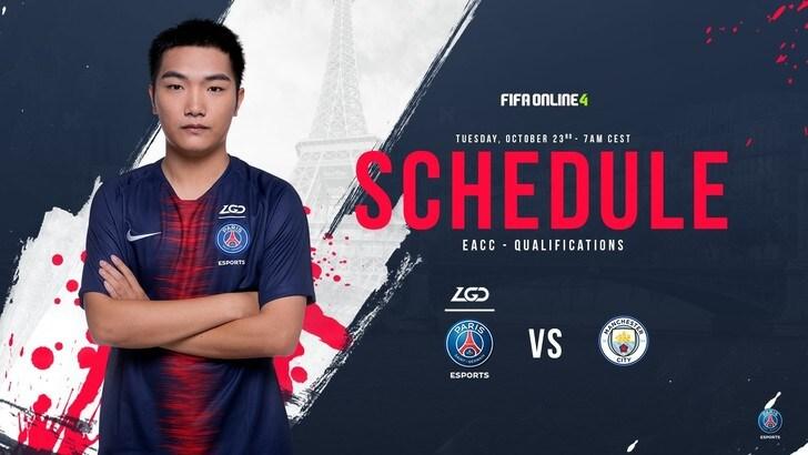 Il PSG eSports sbarca in Cina con un team di FIFA Online 4