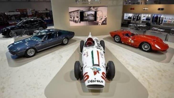 Auto e moto d'epoca al Salone di Padova