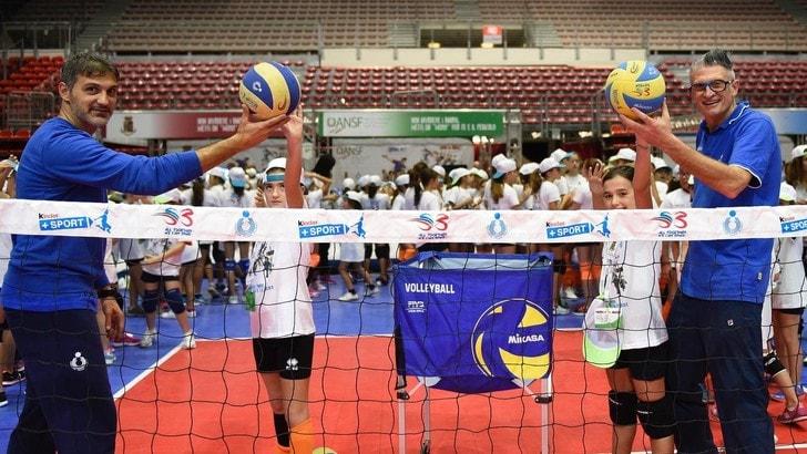 Volley: Gioca Volley S3 in Sicurezza, Papi e Lucchetta inseme a Genova