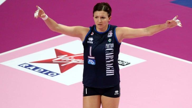 Volley: Sara Anzanello nel cuore di tutti