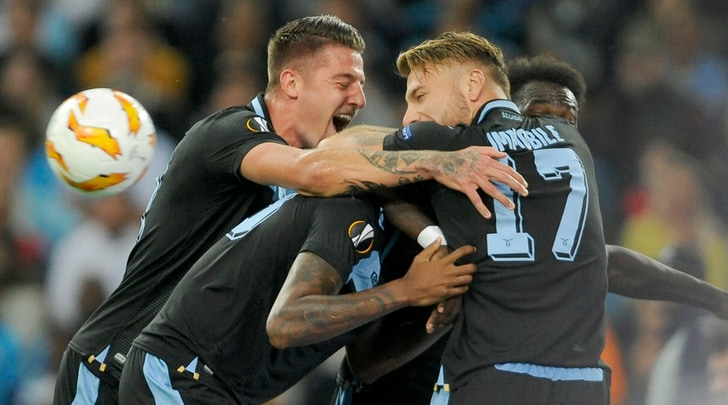 Europa League, Marsiglia-Lazio 1-3: gol di Wallace, Caicedo e Marusic