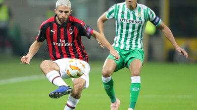 Europa League, Milan ko: il primo posto nel girone sale a 2,25