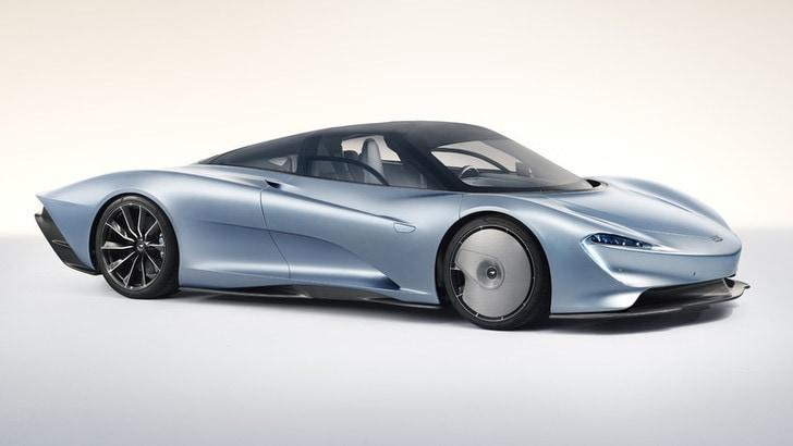 McLaren Speedtail: la GT