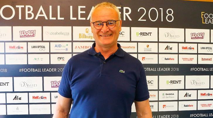 Ranieri: «Con Ronaldo alla Juve il calcio italiano è uscito dalla crisi»