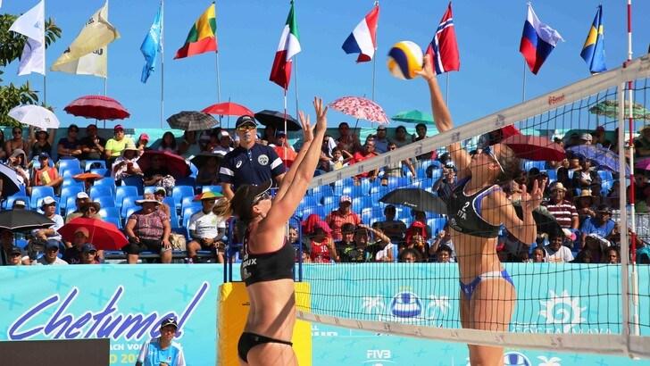 Beach Volley: Menegatti-Orsi Toth cedono a Ledoux-Urango