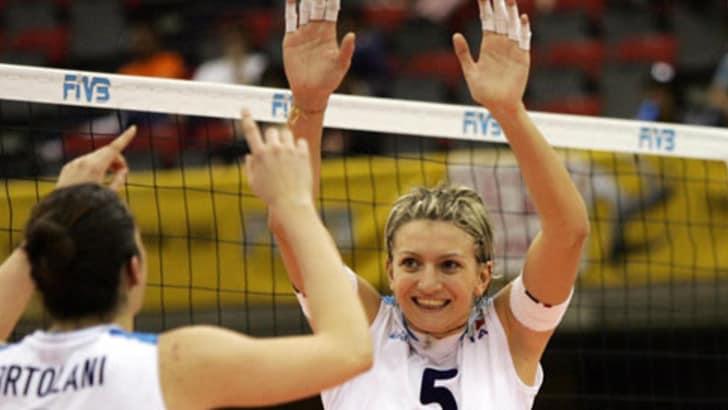 Volley:l'estremo saluto a Sara Anzanello nella sua Ponte di Piave