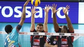 Volley: Superlega, Perugia domina la super sfida con Civitanova