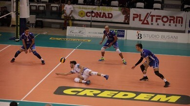 Volley: A2 Maschile, Girone Bianco: Brescia vola a 12 punti