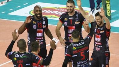 Volley: Superlega, nella 5a giornata riflettori su Civitanova-Trento