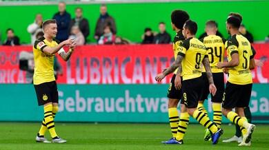 Bundesliga, il Dortmund vince e allunga. Frena ancora il Bayern Monaco