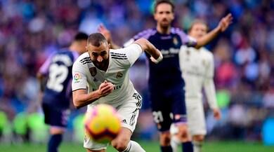 Liga, debutto vincente di Solari: il Real piega il Valladolid con un autogol e un rigore di Ramos