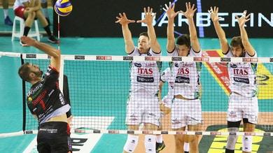 Volley: Superlega, Civitanova la spunta su Trento nel big match della 5a