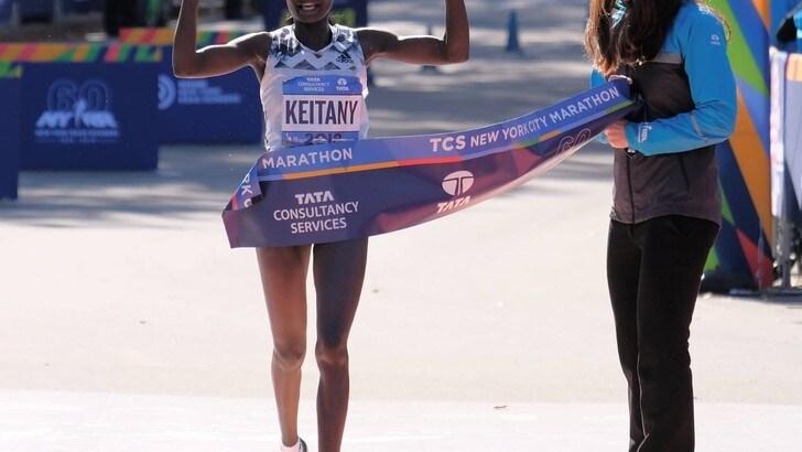 Keitany e Desisa le star della New York Marathon