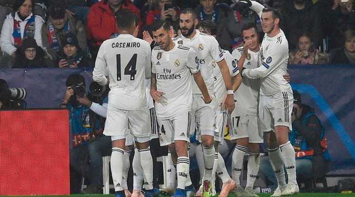 Champions, goleade Real Madrid e City. Ok Bayern, suicidio Lione