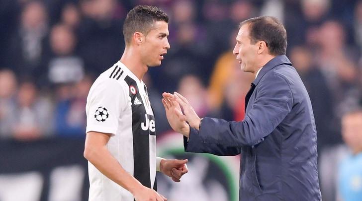 Juventus, Allegri: «Giocato bene, ma questo non ci darà i tre punti persi»