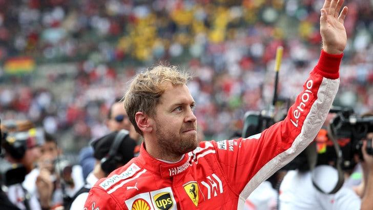 F1 Brasile, Vettel: «Niente bilanci. Due gare da vincere»