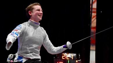 Scherma paralimpica, Bebe Vio vince la coppa del mondo nel fioretto
