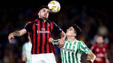 Europa League Betis-Milan 1-1, il tabellino