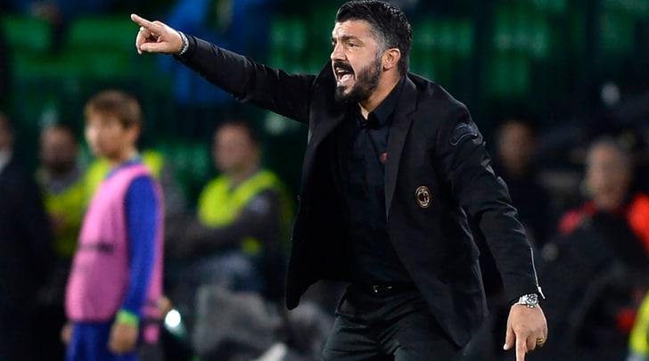 Gattuso: «Contro la Juventus senza paura»