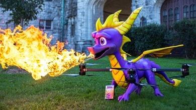 Spyro: il personaggio dei videogiochi diventa un drone