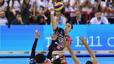 Volley: Superlega, Perugia-Modena scontro diretto al Pala Barton