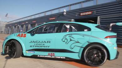 Jaguar I-Pace eTrophy, ecco le immagini dei test