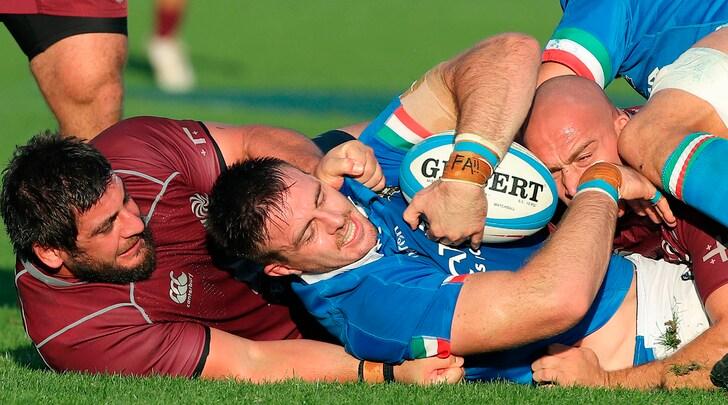 Rugby, l'Italia batte la Georgia 28-17