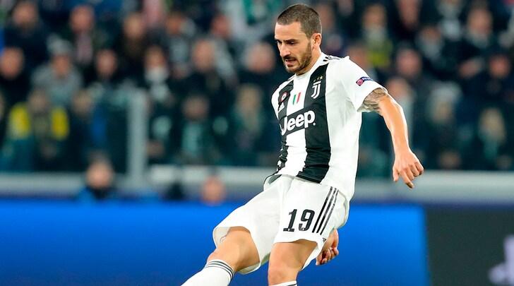 Milan-Juventus, Bonucci è in dubbio: ipotesi Benatia dal 1'