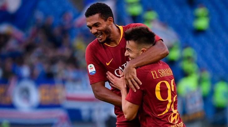 Roma, poker alla Samp. Empoli-Udinese 2-1, Chievo-Bologna 2-2