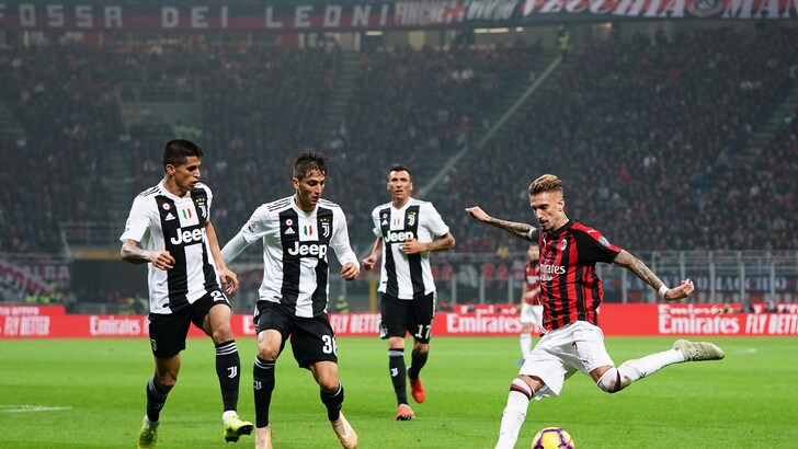 Serie A Milan-Juventus 0-2, il tabellino